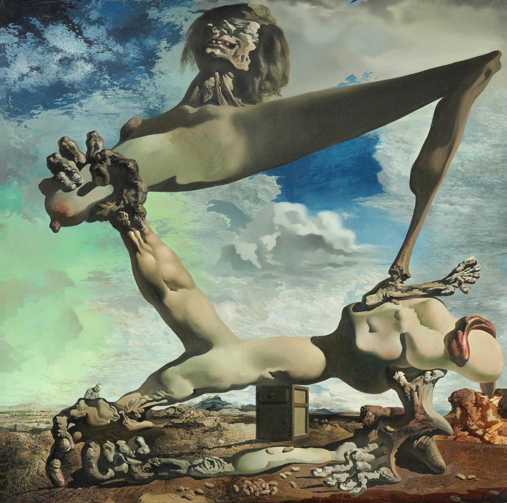 Salvador Dali, Premonition of Civil War (1936)