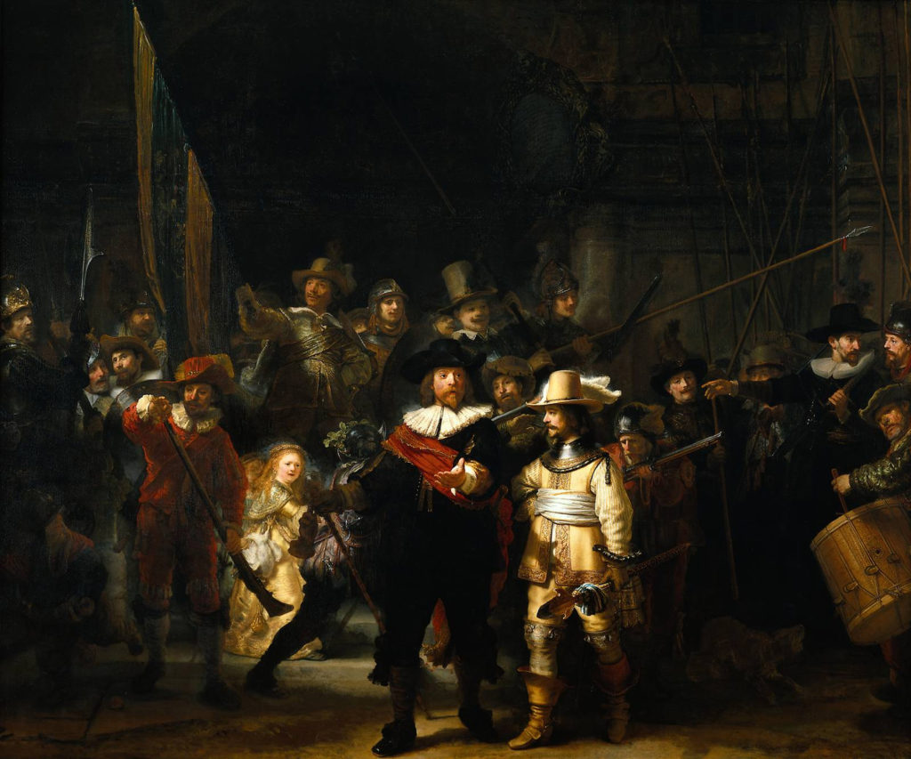 Rembrandt, The Night Watch (1642)