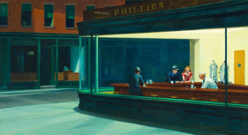 Edward Hopper, Nighthawks (1942)