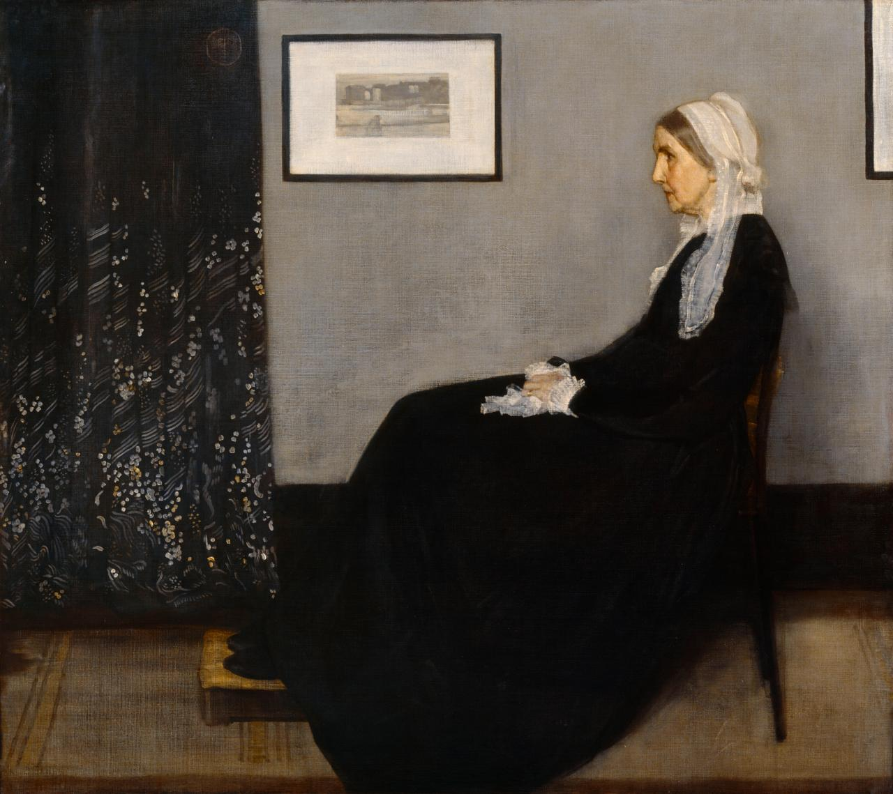 James McNeill Whistler, Arrangement in Grey and Black No.1 (1871)