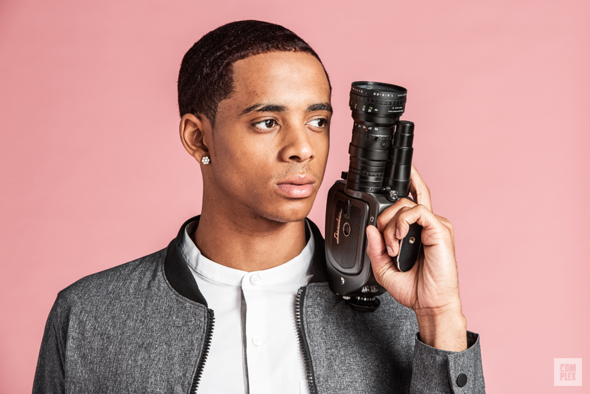 A profile of Cordell Broadus, in collaboration with Complex x Kenneth Cole.