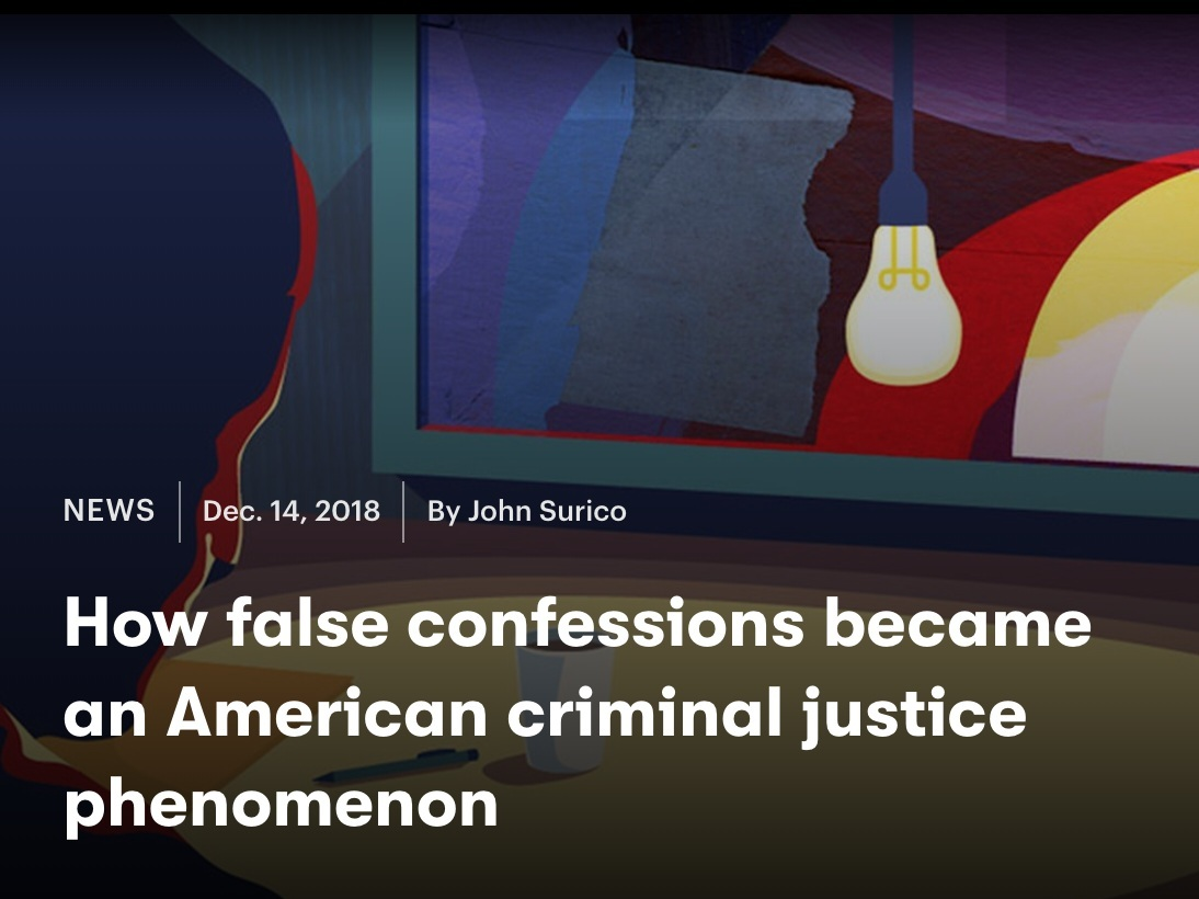 A feature on the phenomenon of false confessions, in collaboration with Mic x Netflix.