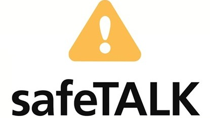 safeTALK  is a half-day alertness training that prepares anyone 15 or older, regardless of prior experience or training, to become a suicide-alert helper.