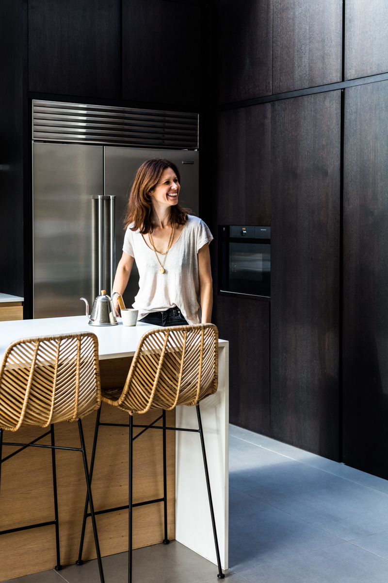Laura Harper Hinton , co-owner of Caravan restaurants shot for the wellbeing Elle Decoration issue.