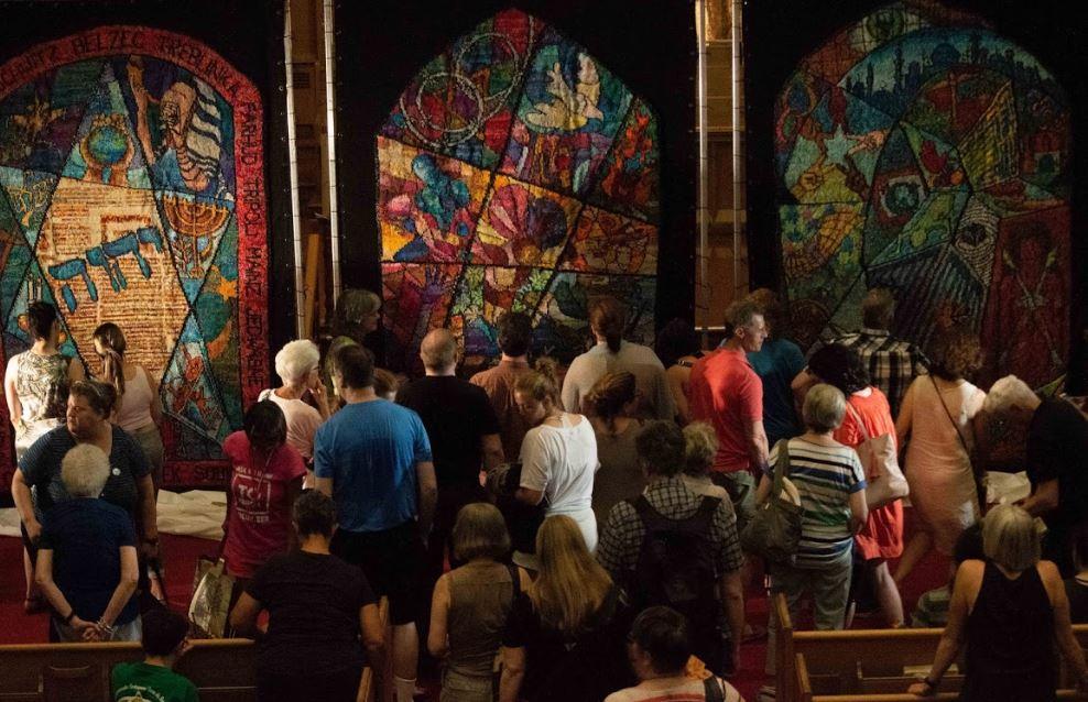 Toronto Fringe, Bloor St. United Church. Credit: Matthew Sarookanian