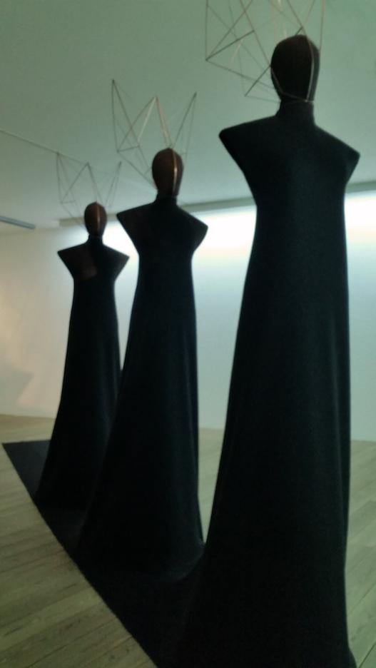 Visited the exhibition of costume designer   Frida Parmeggiani    at Kunst Meran Museum.