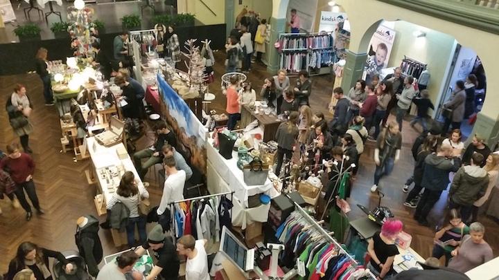 """Design and Manufaktur JoCiao Markt"" in Meran."