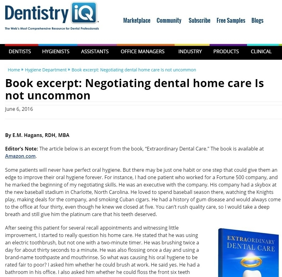 Featured In: Dentistry iQ