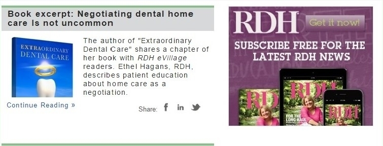 Featured In: RDH eVillage