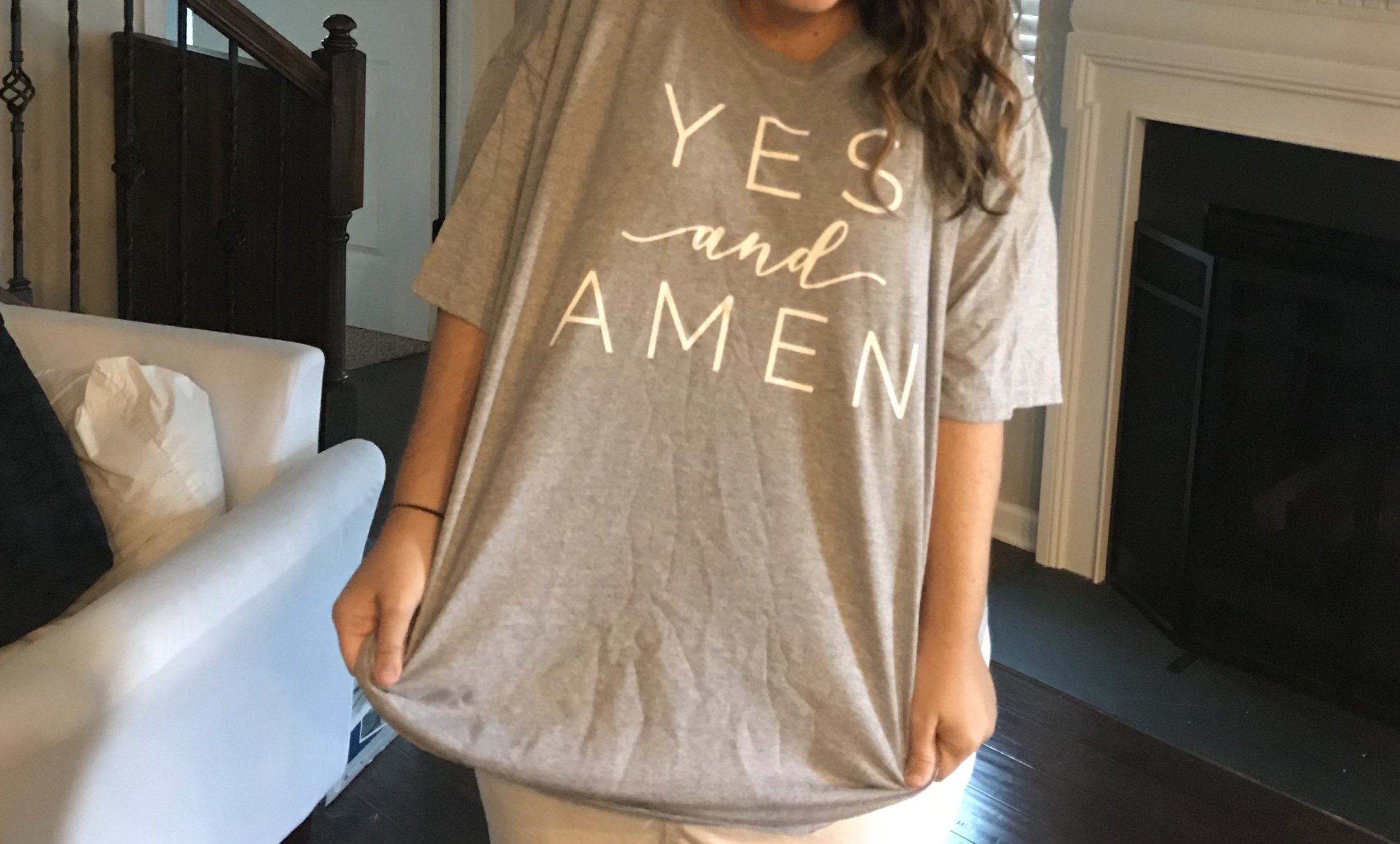 yes and amen shirts.JPG