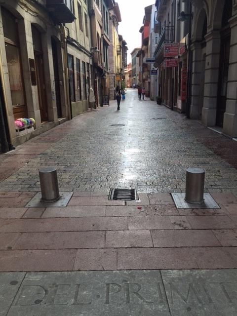 Street of Llanes