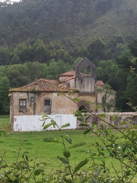 Abandoned monastery from 15th century