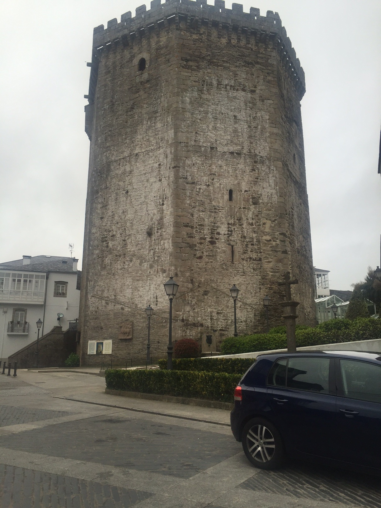 Medieval tower, now a hotel