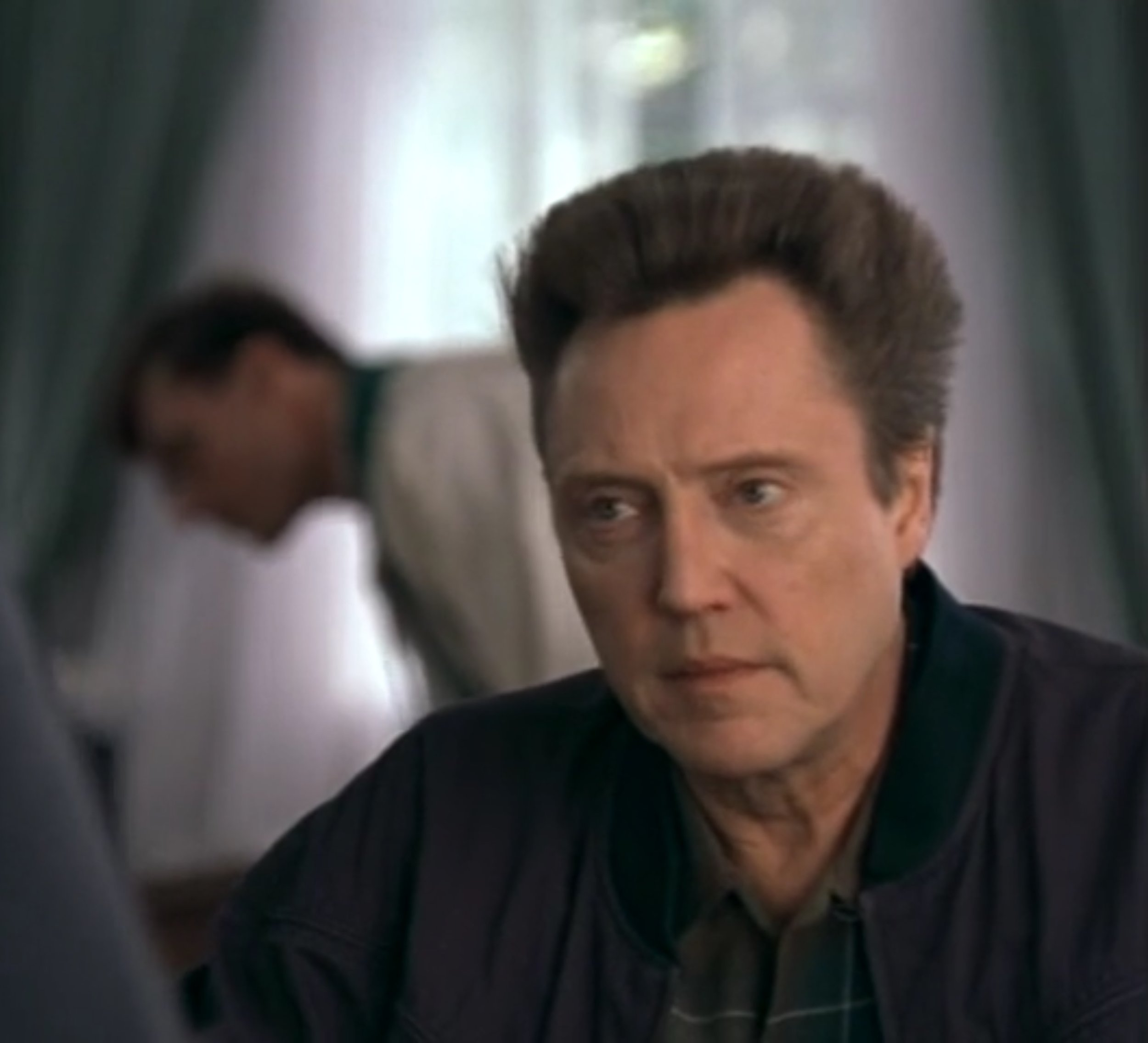 Me and Christopher Walken in The Opportunist.