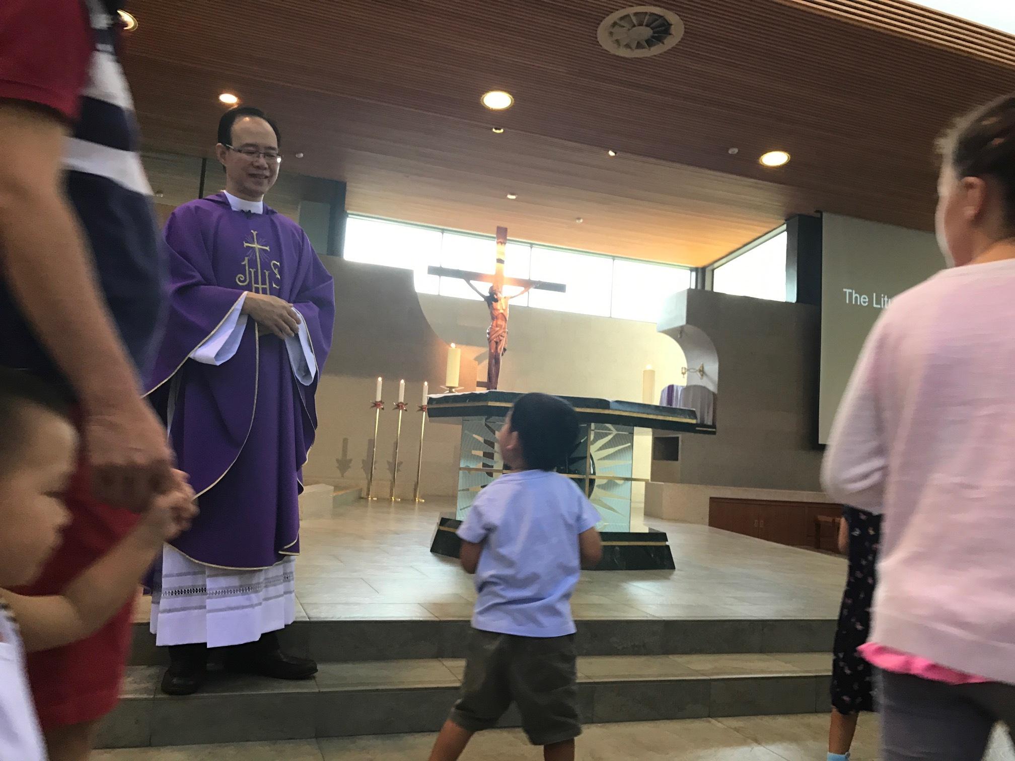 Children's Mass a la Singapore