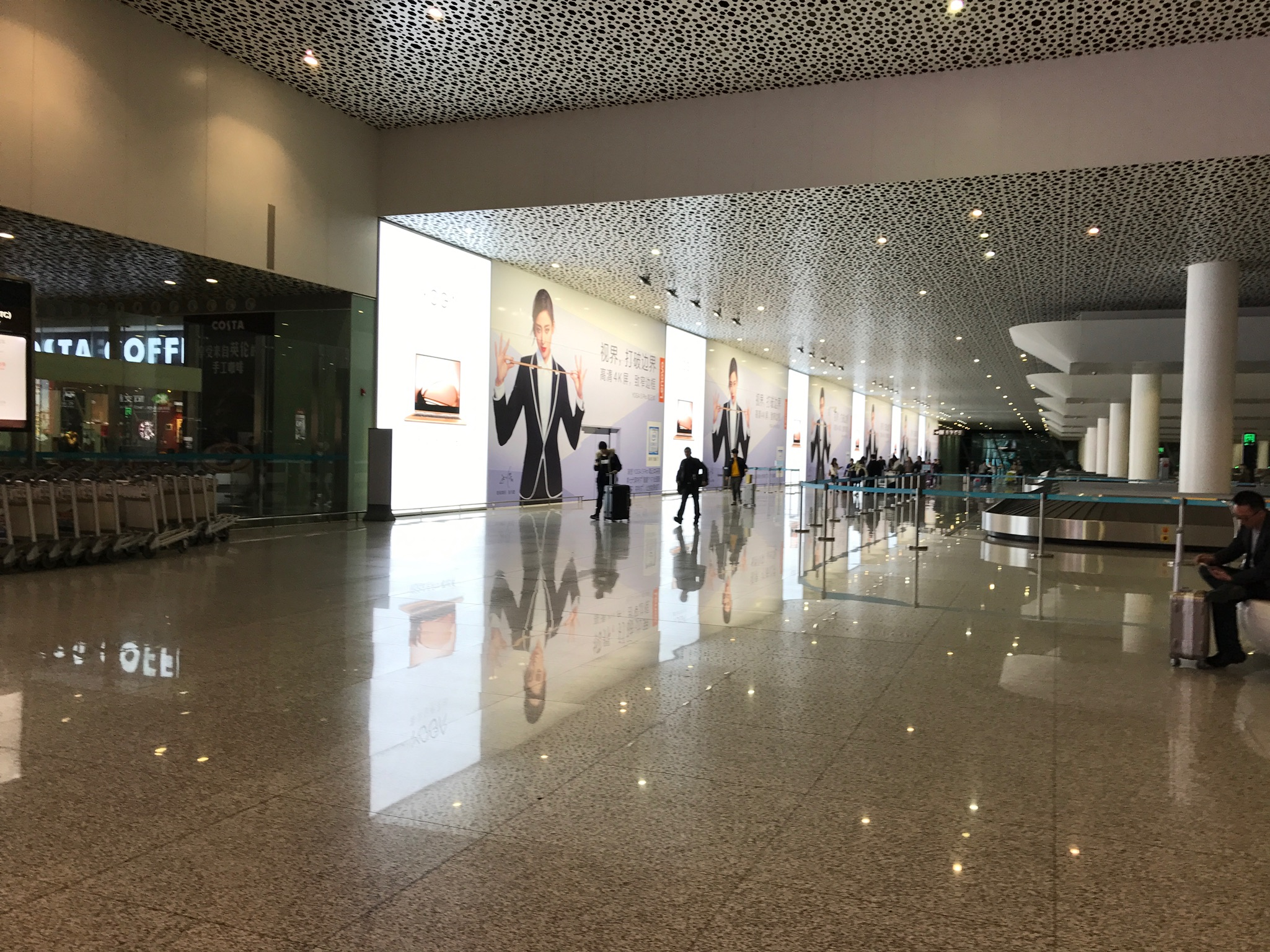 Immaculate airport