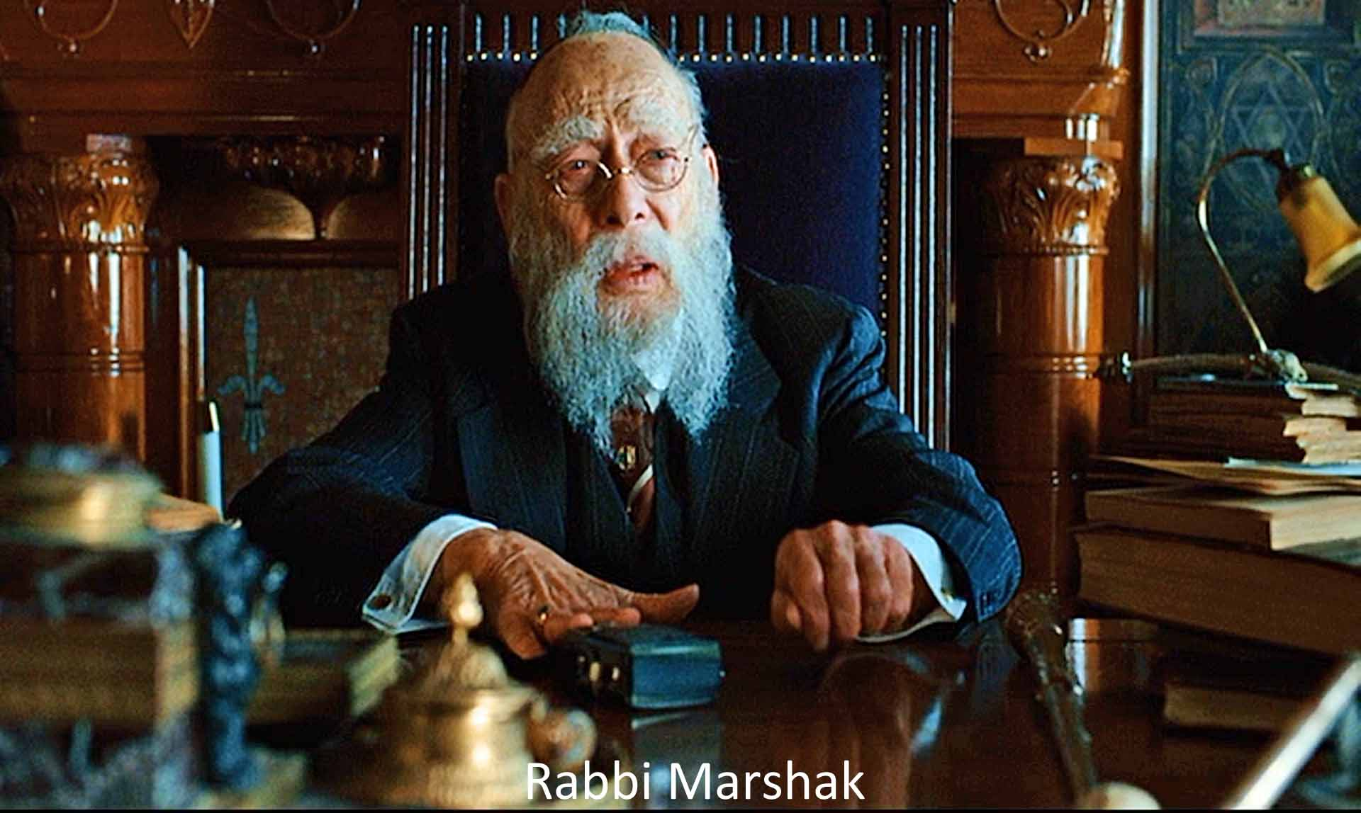 Rabbi from Coen brothers' film A Serious Man
