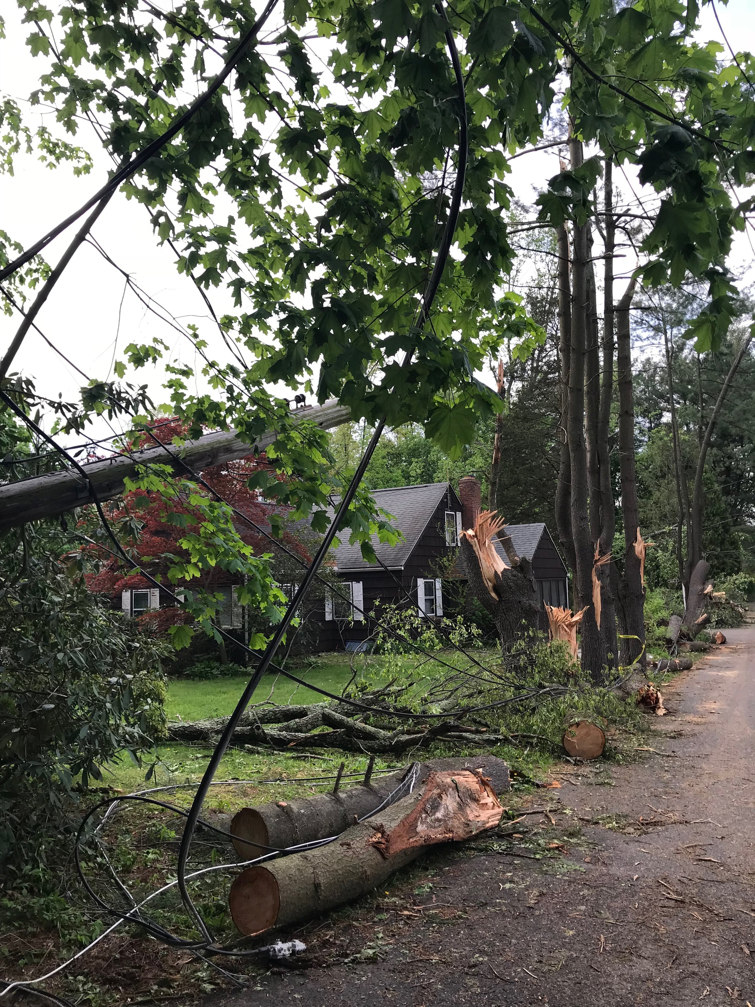 Damage in Connecticut