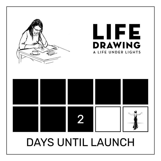 """Hand drawn and written by Jessica Martin"" LIFE DRAWING: A Life Under Lights. A graphic novel and memoir. Available soon."