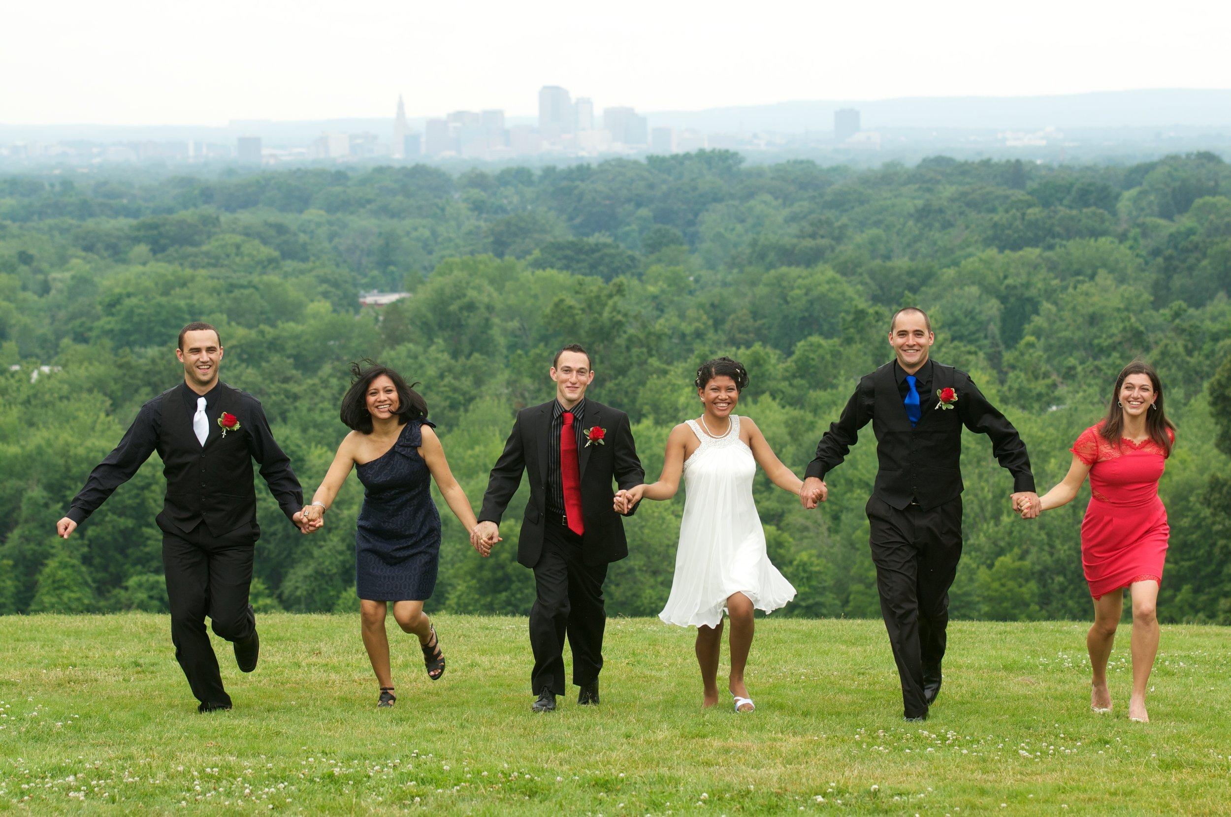 Fun Wedding photography, CT