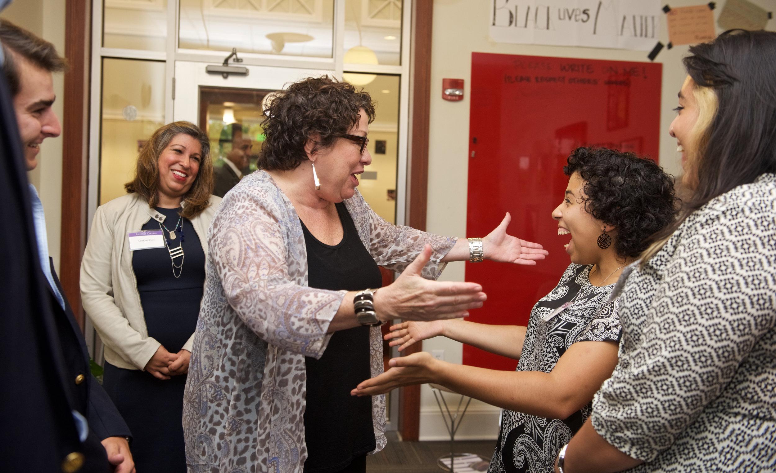 Sonia Sotomayor visits Amherst