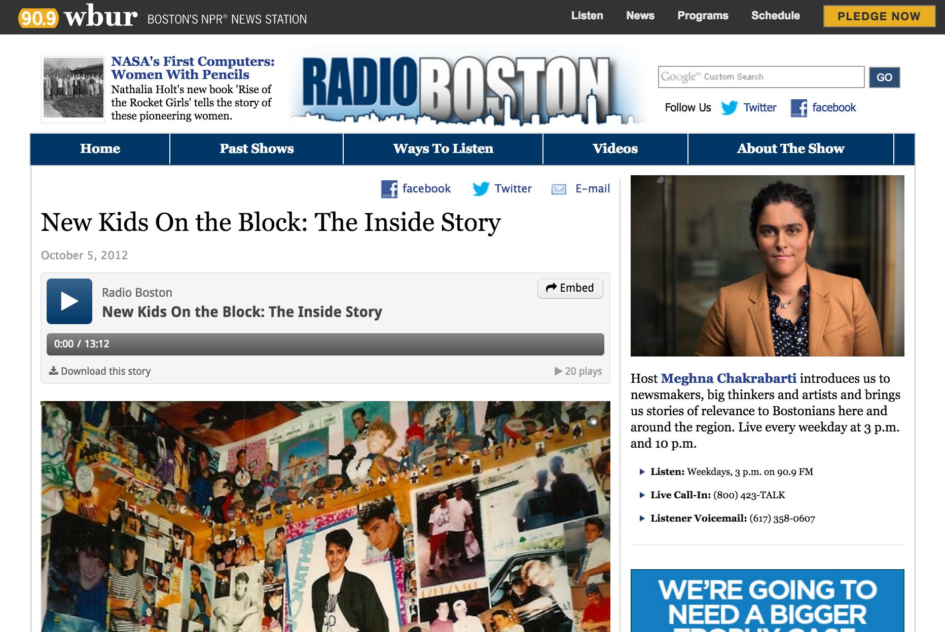 NPR (WBUR)
