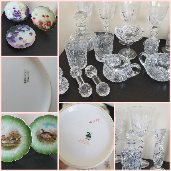 Crystal, Limoges, Treasure O'Gold, J&C …