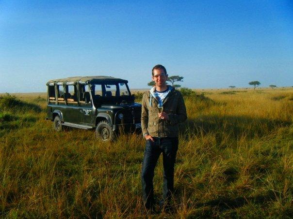 Champagne on safari? Cheers to that!