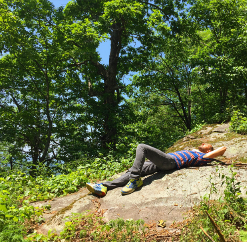 IntroverTravels Founder & Chief Explorer, Jacob Marek, traveling and relaxing (Great Smoky Mountain National Park).