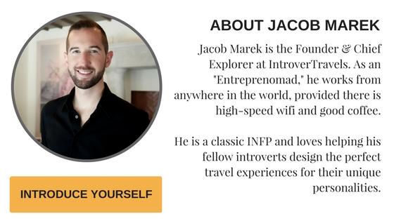 Jacob Marek, Founder & Chief Explorer at IntroverTravels