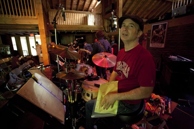 Shawn Pelton  (Levon's barn - Woodstock, NY)