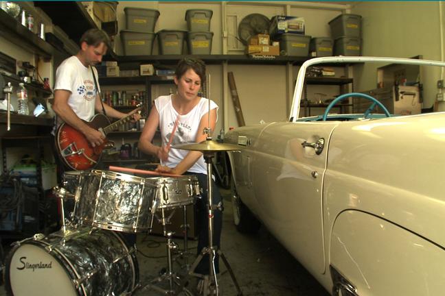 "David Steele  (""Totemistics"" garage jam - Los Angeles, CA)"