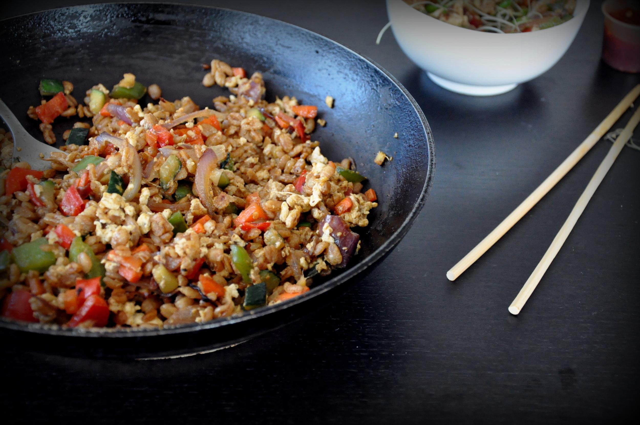 Farro Fried Rice5