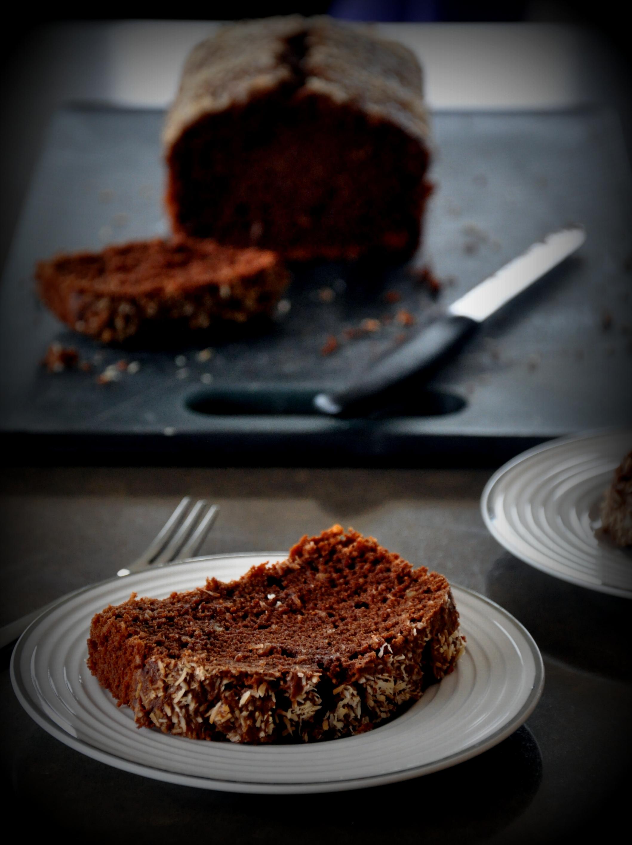 Chocolate Coconut Atta Cake2