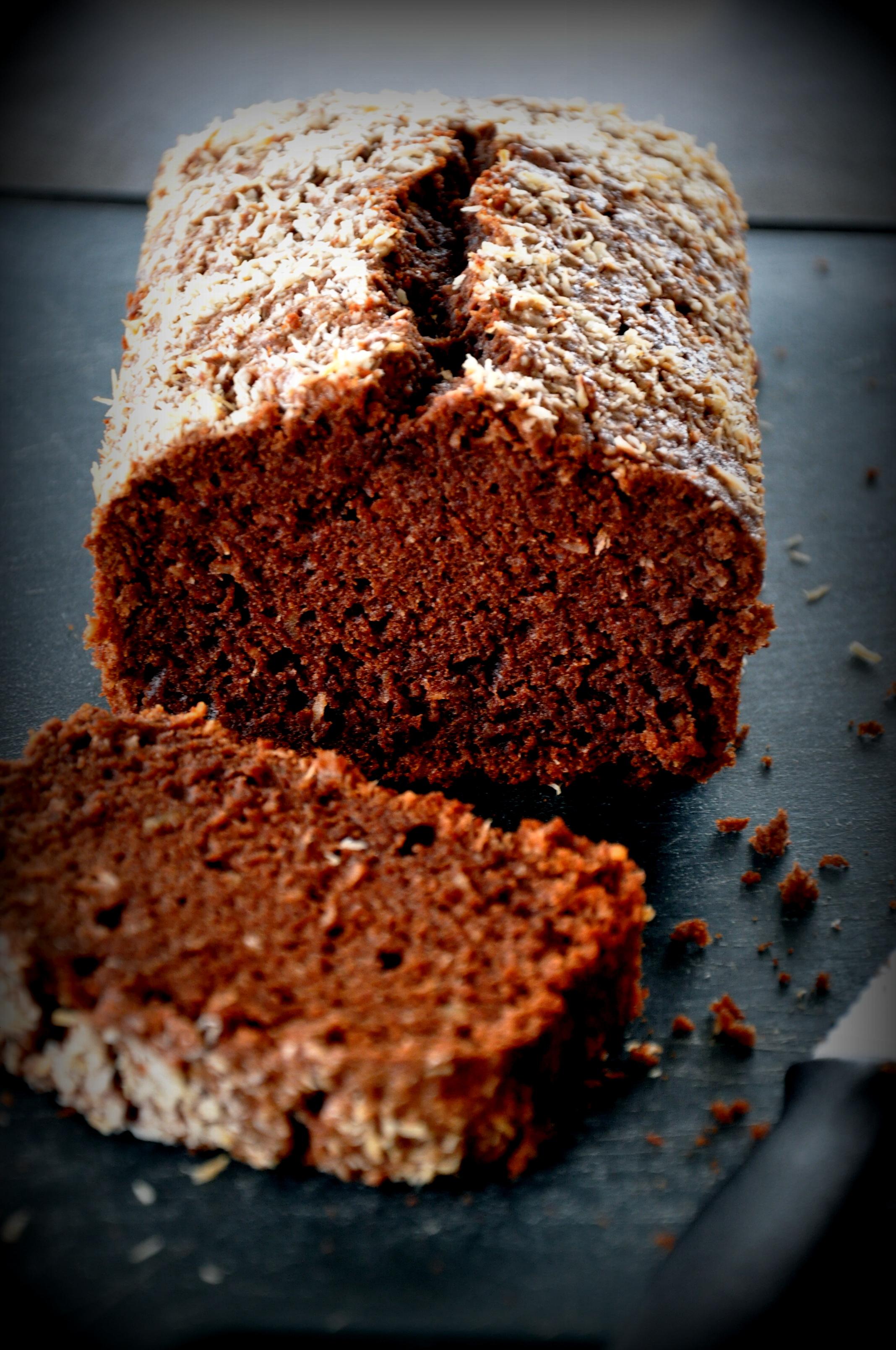 Chocolate Coconut Atta Cake1