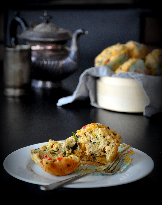 Atta Spicy Savory Muffins2