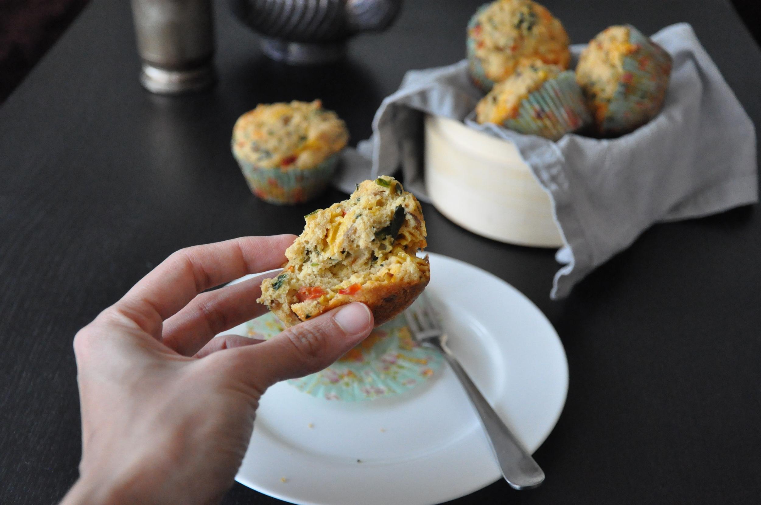 Atta Spicy Savory Muffins6