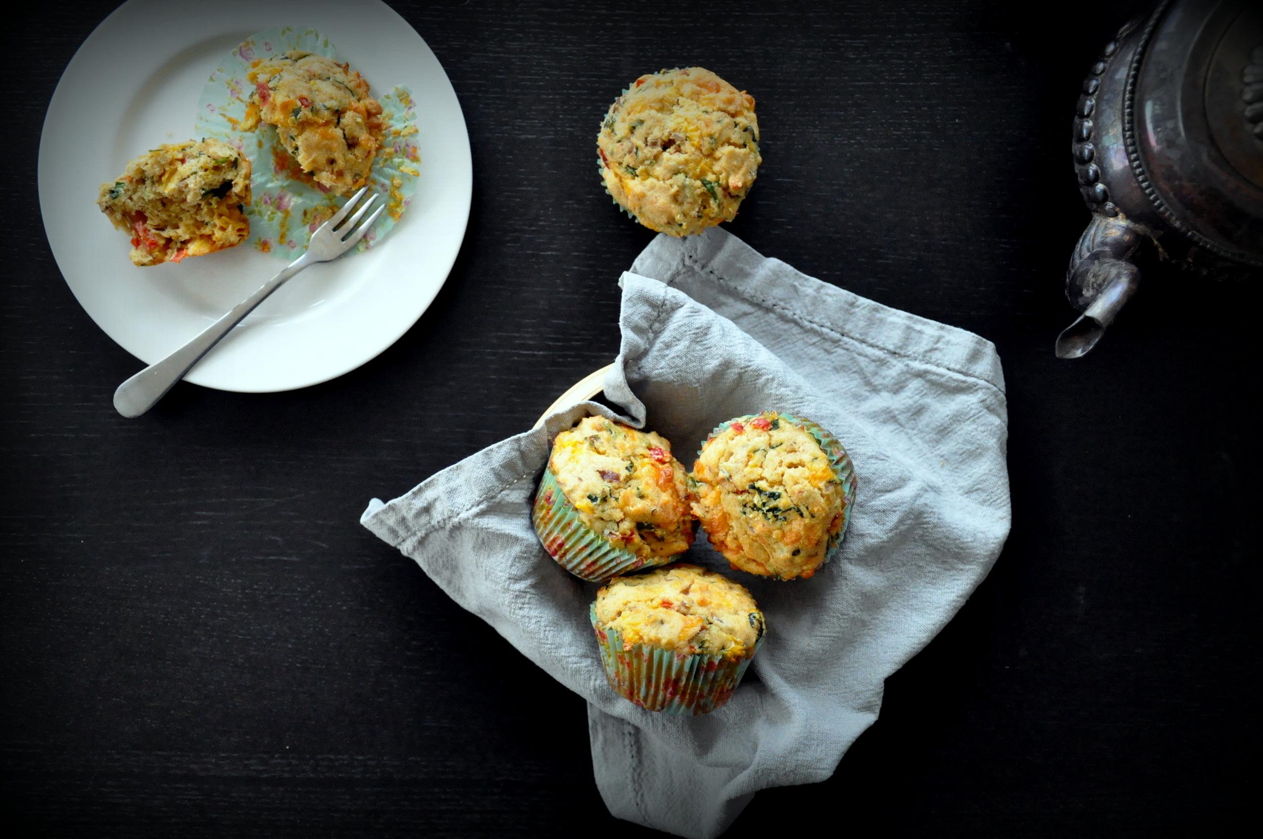 Atta Spicy Savory Muffins7