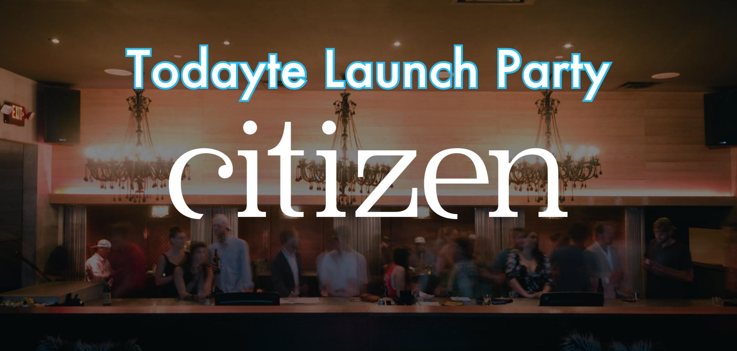 Come celebrate our Nashville launch at Citizen.