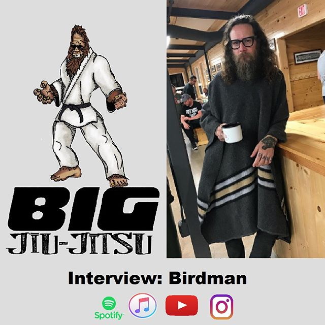 I had an awesome time talking to Birdman and his crew, we definitely got into some interesting conversations about living in Brooklyn and dealing with some of the locals.  Listen to it at BJJshow.com or your favorite podcast app.  #bjj #birdman #trapandrollsoapco #tapearmor #bigjiujitsu #rollzgear #podcast #comedy #interview #originmaine #jiujitsu #itunes #podcasting #listentothis #brooklyn
