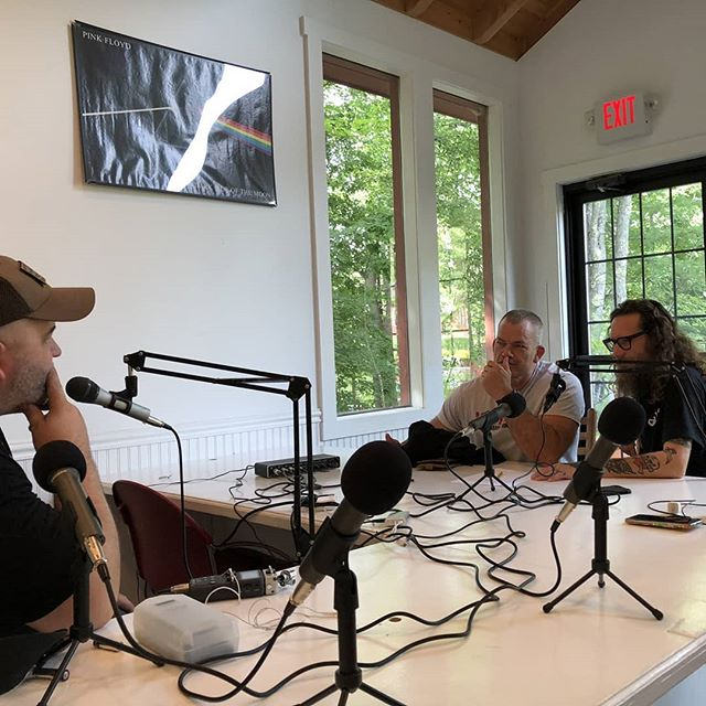 Got dojo stormed by @jockowillink while interviewing @birdmanbjj with @mr_ewok_one.  New episode will drop soon on BJJShow.com or your favorite podcast app.  #bjj #mma #bigjiujitsu #birdmanbjj #jockowillink #podcast #interview #comedy #signmykatana #trapandrollsoapco #tapearmor #rollzgear #listentothis
