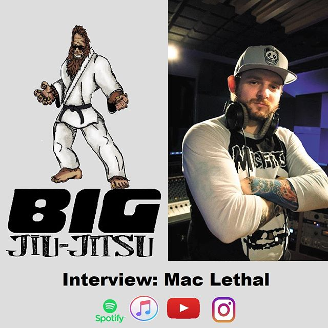 Mac Lethal joins Rob to talk about his training and how he got started in the music business. Check out the episode at www.BJJshow.com or your favorite podcast app!  #bjj #podcast #eliknight #selfdefense #trapandrollsoapco #tapearmor #rollzgear #bigjiujitsu #mma #comedy #ufc #listentothis #streetart #mrewokone #subscribetous #radio #maclethal