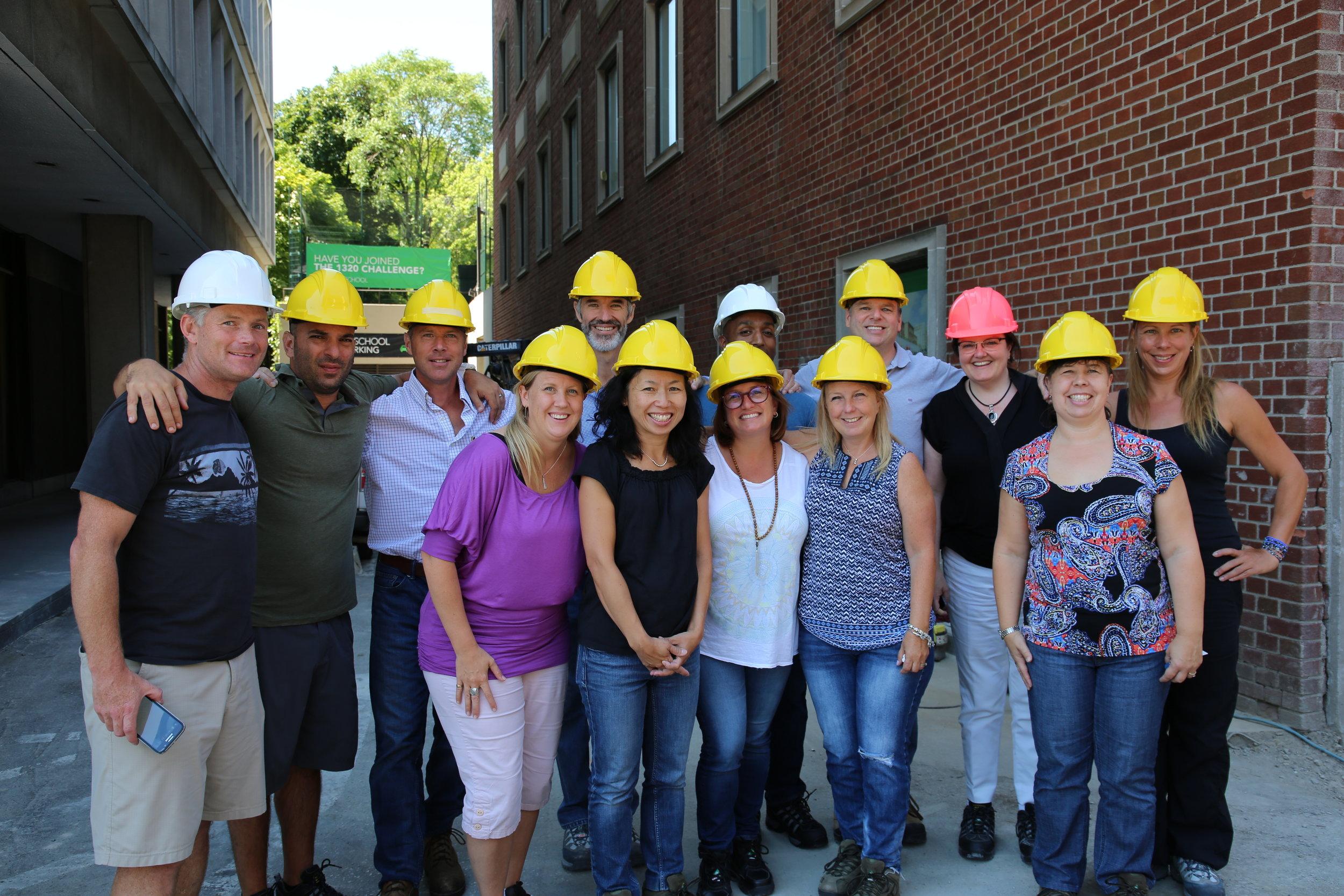 The York School Executive Team for 2016-2017