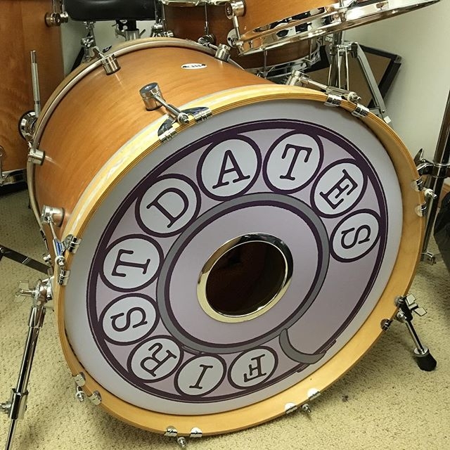 Can't do anything but tip our caps to the top-notch humans at DrumART for swaggin' out Shawn's kick drum. #NailedIt https://drumart.com