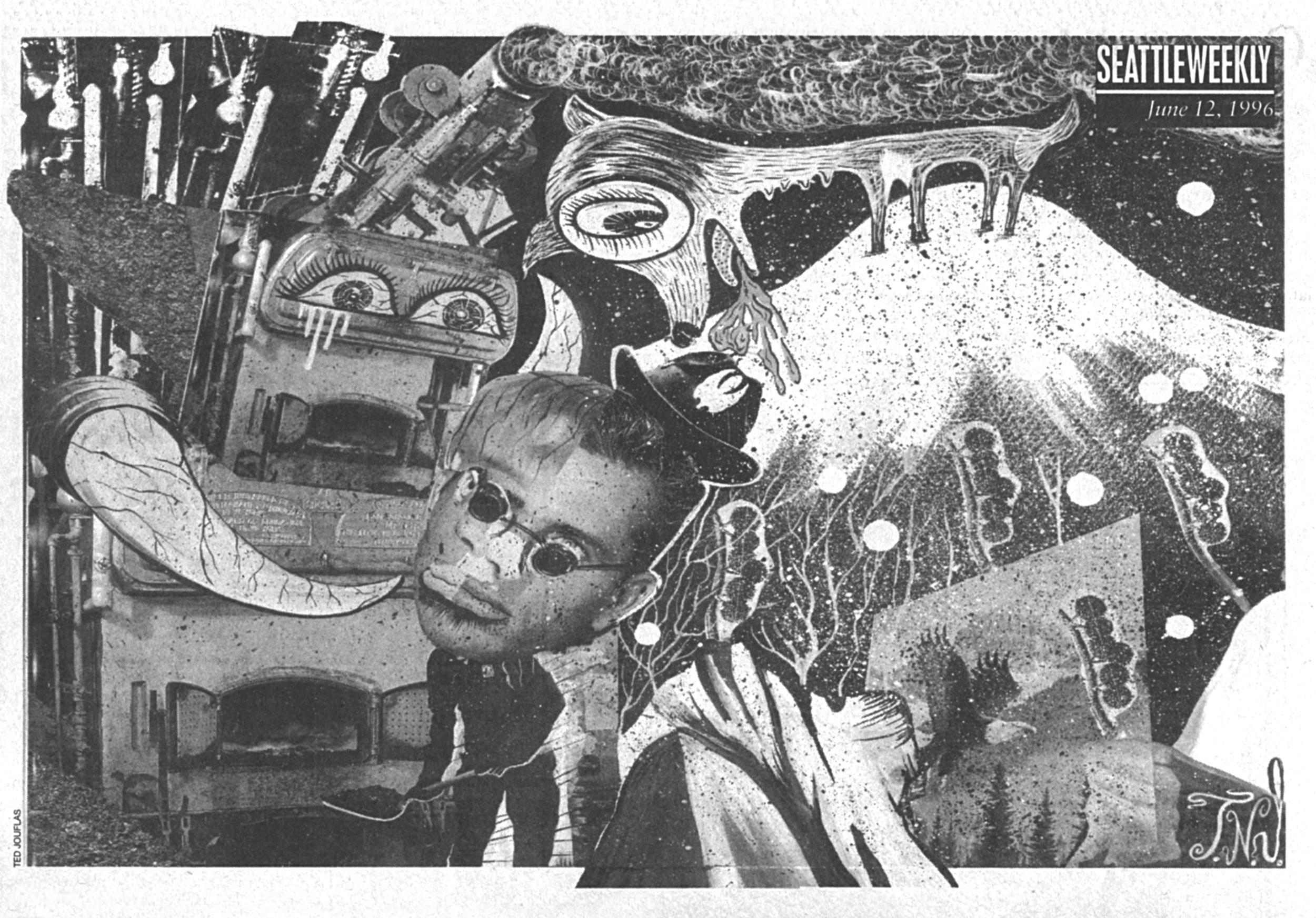 Black Elephant - Seattle Weekly 1996