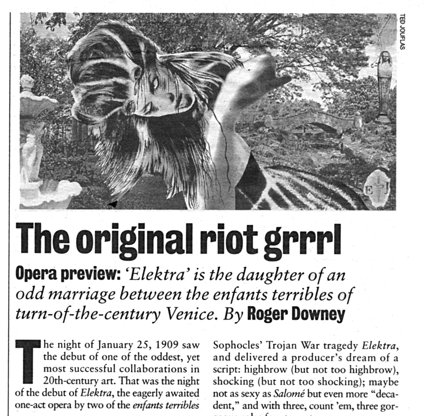 The Original Riot Grrrl - Seattle Weekly 1996