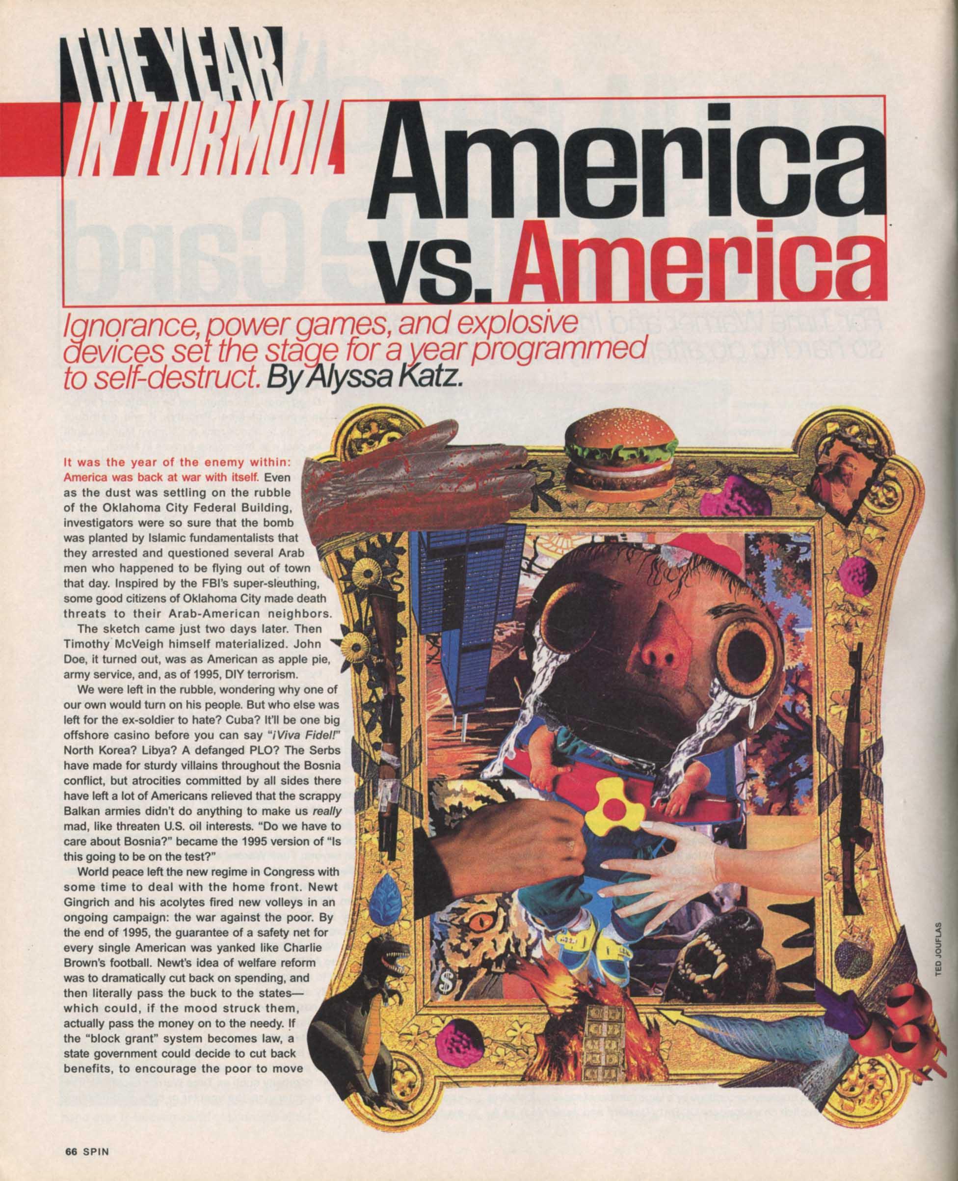 America vs. America - Spin 1996