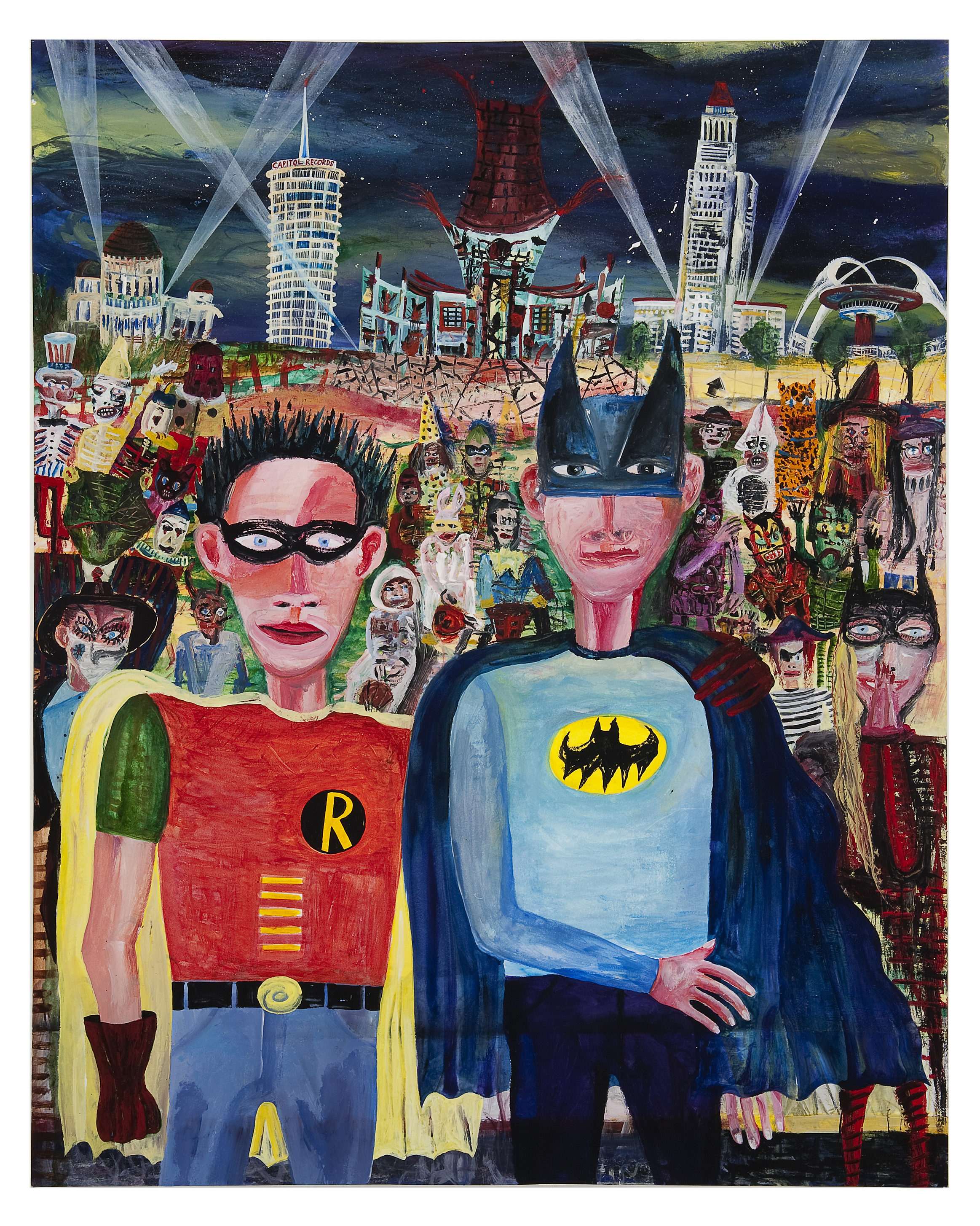 David and Myself - Halloween Los Angeles 1968