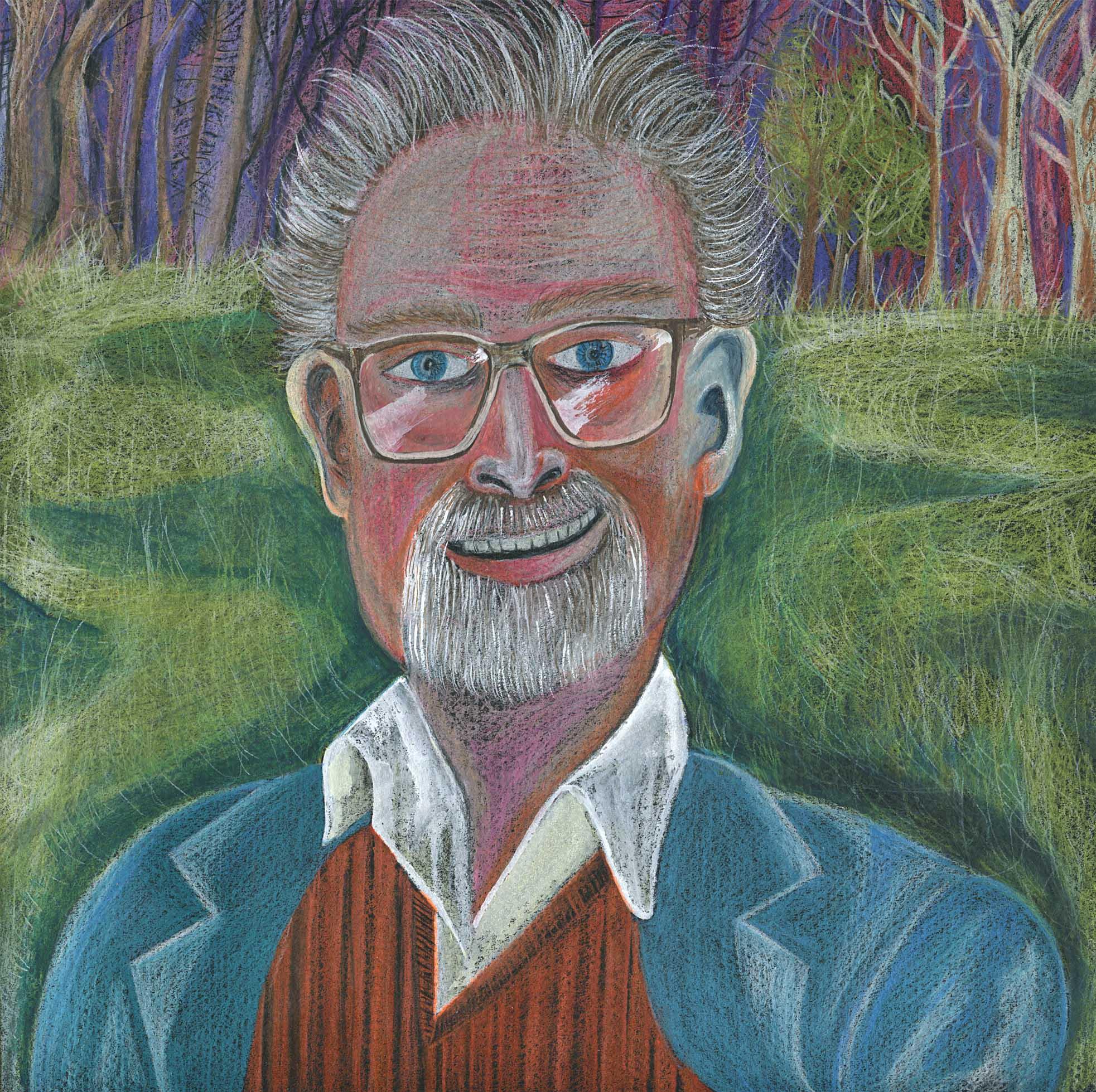 Portrait of Alasdair Gray