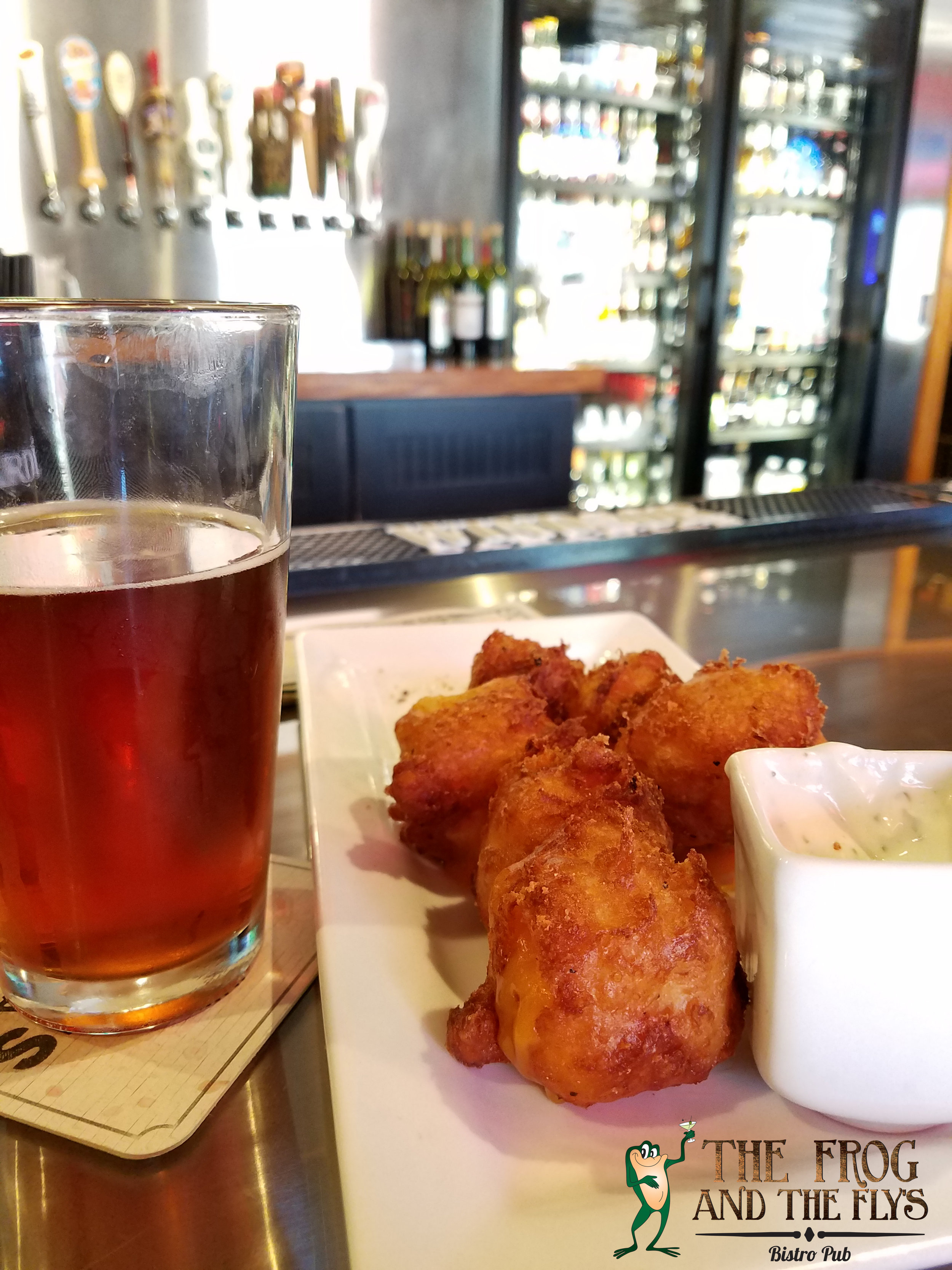 beer pint drink appetizer cheese curds frog.jpg